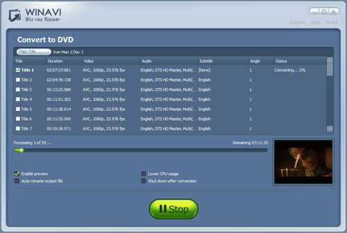 blu ray to dvd converter software free download