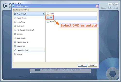 Convert Bluray to DVD - How to convert Bluray to DVD with