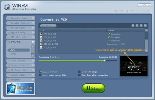 VCD Converter Easily Convert VCD (.dat) Videos to MP4