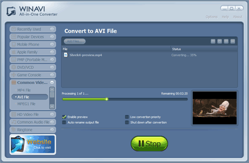 Powerful Video Converter