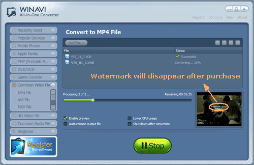 free download vob to mp4 converter full version