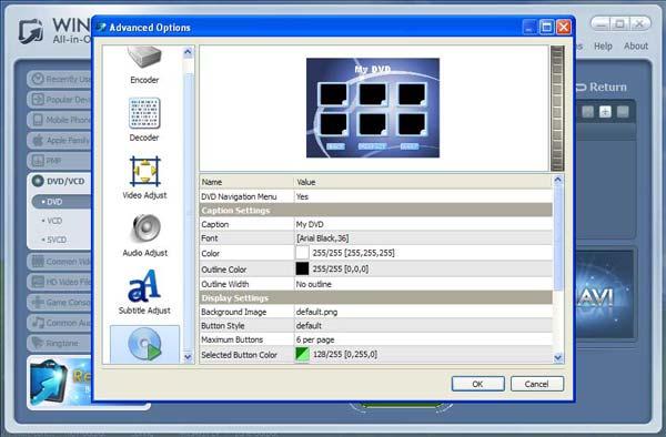 WinAVI All-In-One Converter - screenshots