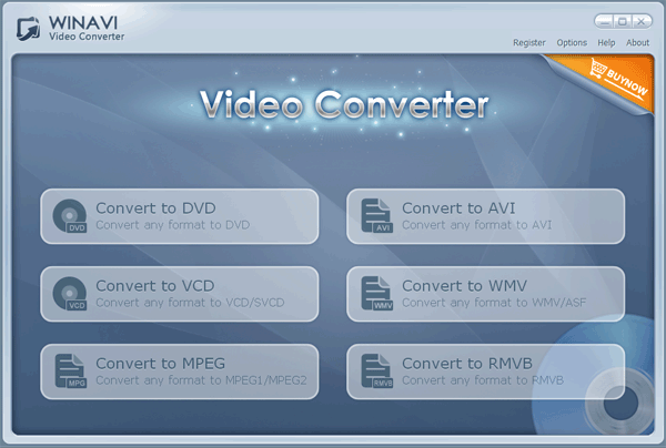 WinAVI Video Converter is a complete solution for video file conversion. It supports convert AVI to DVD, AVI to VCD,AVI to MPEG, AVI to WMV, DVD to AVI, MOV convert, all video format to AVI/WMV/RMVB and output vcd/svcd/dvd even HD format.