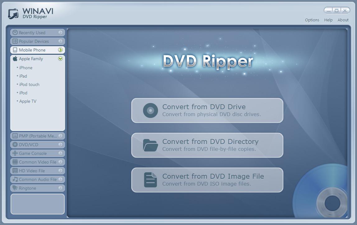 Winavi dvd ripper v1 1 0 4105 cracked xtmvma